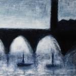 »Die Brücke«, 2011, 80 x 100 cm