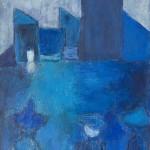 »Die Besucher«, 2012, 120 x 160 cm, Acryl auf Leinwand