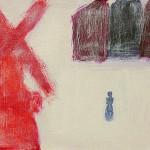 »Die rote Mühle«, 2012, 30 x 40 cm