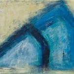 »Krise I«, 2013, 40 x 30 cm