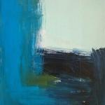 »Hohe Welle« 2014, 45 x 35 cm