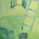 »Mein blauer Sessel«, 2014, 100 x 140 cm