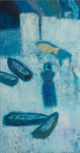 »Der Fisch« 2015, 110 x 210 cm