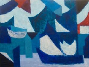 »Die Welt geht aus den Fugen« 2015, 190 x 250 cm
