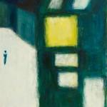 »Das gelbe Fenster«, 2015, 100 x 140 cm